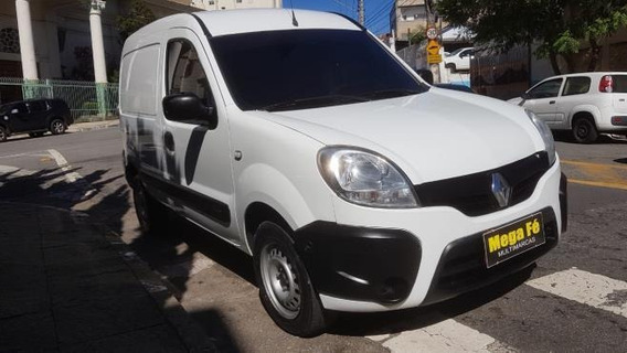 Renault Kangoo Express 1.6 16v Flex 2015 Branco Nova