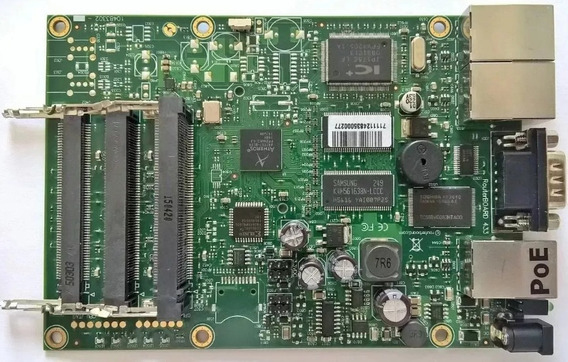 Placa Rb Routerboard Mikrotik Rb433 Nivel 4 - Usada