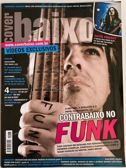 Revista Cover Baixo - Ed 83 - Jul/2009 - Contrabaixo Do Funk