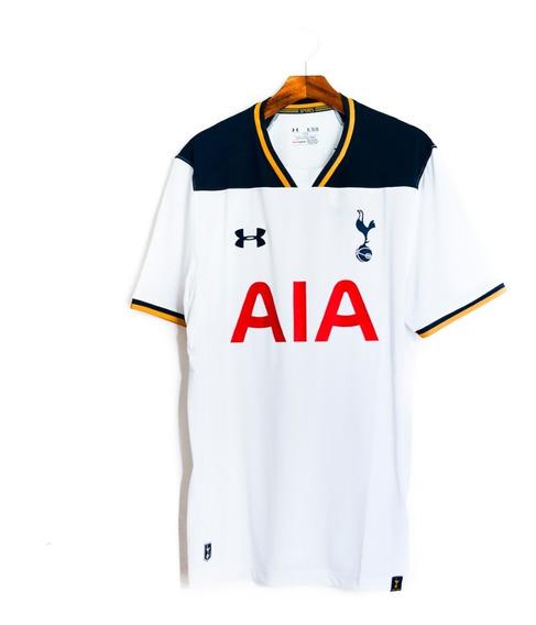 Camisa De Futebol Masculino Tottenham 2016/17 Under Armour