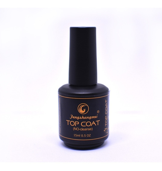 Selante Top Coat Fengshangmei Pretinho Do Poder Original