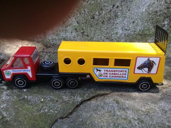 Gorgo Camion Transporte De Caballos Coleccion Devoto Hobbies