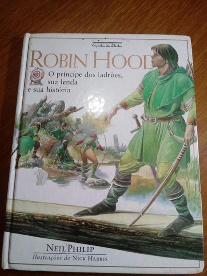 Livro Robin Hood Neil Philip Capadura Ilustrações .obc Store