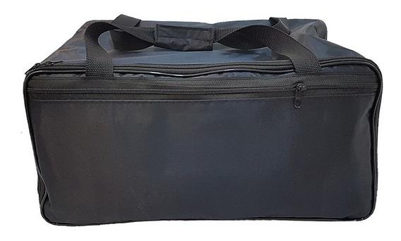 Kit Bolsa Com 6 Bandejas Para Transportar Joias