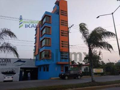 Renta Departamento Amueblado 1 Recamara Frente Al Río Tuxpan Veracruz. Se Renta Departamento Amueblado En Primer Piso En Edificio De Cuatro Pisos A Borde Del Boulevard Que Conecta El Centro A Las Pla
