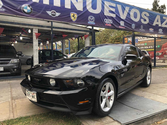 Ford Mustang 4.6 Gt Equipado Piel Mt 2010