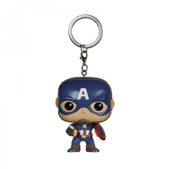 Chaveiro Do Capitao America Marvel Vingadores Funko