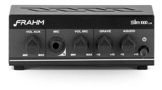 Amplificador Receiver Frahm Slim 1000 La G2 Som Ambiente 40w