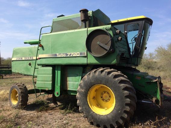 Trilladora John Deere 7720 Turbo Y Cabezales