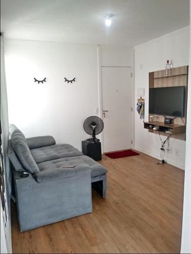 Lindo Apartamento Com 2 Dormitórios, 45 M² - Venda Por R$ 235.000 Ou Aluguel Por R$ 1.200/mês - Jardim Do Lago Continuação - Campinas/sp - Ap1022