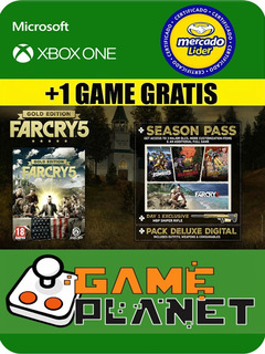 Far Cry 5 Gold Edition Xbox One Online/offline