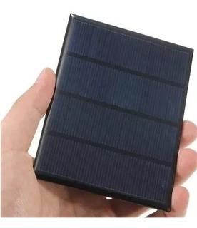 Painel Placa Solar 12v 1,5w Célula Frete Carta Registrada