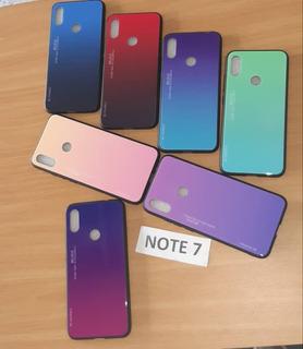 Combo Forro De Lujo Xiaomi Redmi Note 7 Mayor Envio Gratis
