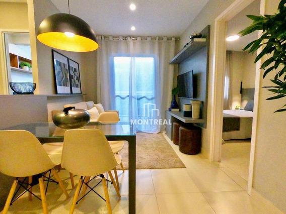 Apartamento Com 1 Dormitório À Venda, 38 M² Por R$ 254.000,00 - Vila Andrade - São Paulo/sp - Ap1501
