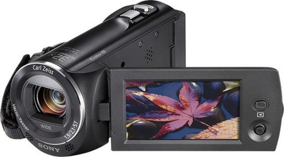 Filmadora Sony Hdr-cx220 Full Hd Tela 2.7 + Cartão + Bolsa