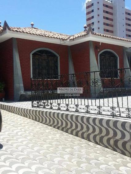 Casa Também Ideal Para Comércio, Clínica, Restaurante, Farmácia, Etc. - Ca0374