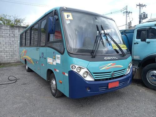 Micro Ônibus Comil Piá Executivo Ú Dono Seminovo Volks 9 160