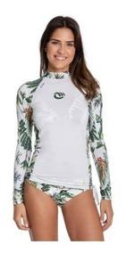 Kit Feminino Proteção Solar Upf 50+ Blusa + Calcinha Biquini