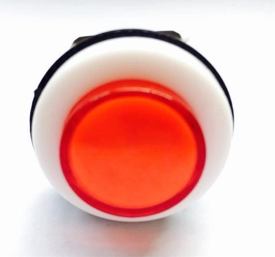 Chave Botão Push Button Psb-29 Vermelho (500 Peças)