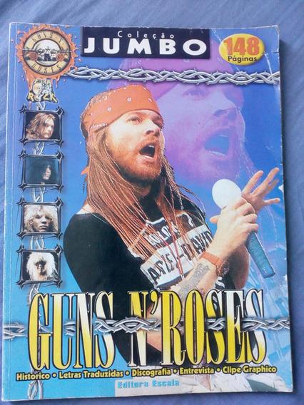 Guns N Roses - Revista Coleção Jumbo Clip Rock - 148 Paginas