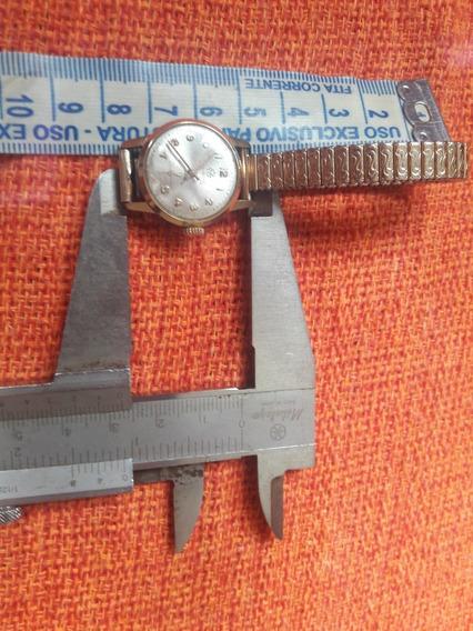 Raro Relógio Antigo Mirvaine Acre 17 Rubis Antimagnetic Swis