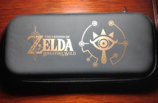 Estuche N. Switch The Legend Of Zelda: Breath Of The Wild