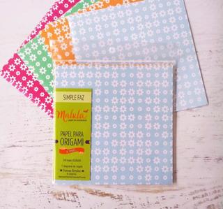 Margarita Color Papel Origami Malula 15 X 15 Cm Y 4 Colores