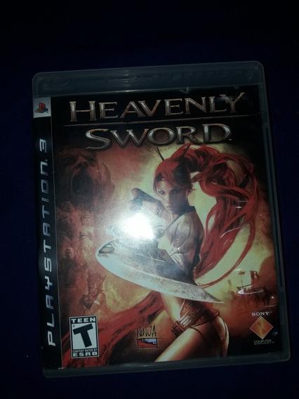 Heavenly Sword Ps3 Mídia Fisica