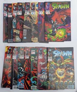 Spawn 1996 Abril Image 1 A 8 , 12 A 18 Hq´s Com 15 Gibi