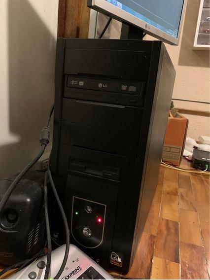 Computador De Mesa Com Todos Os Acessórios