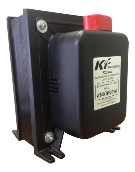 Transformador 3000va 110 Para 220 E 220 Para 110 Kf (2100w)