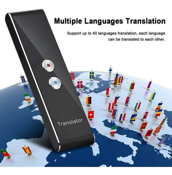 Tradutor De Fala Inteligente Translator Pronta Entrega