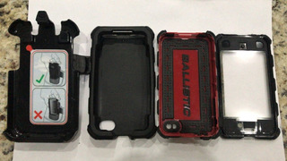 Capa Case Ballistic P/iPhone 4/4s/se Coldre E Clipe De Cinto
