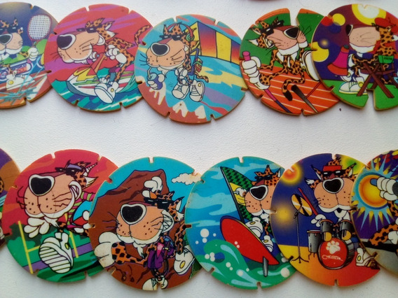 Tazos Arma Chester Lote X 10 Impecables