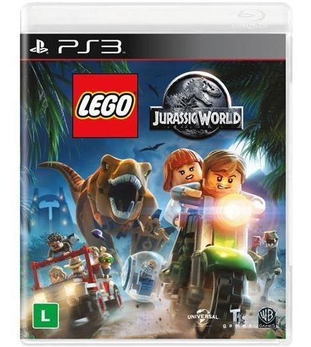 Jogo Lego Jurassic World - Ps3 Mídia Física Usado