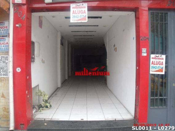 Salão Para Alugar, 200 M² Por R$ 3.200,00/mês - Penha De França - São Paulo/sp - Sl0011