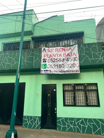 Departamento En Renta En Planta Baja, Miguel Hidalgo, Df