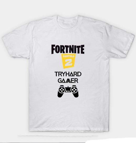 Remera Fortnite Tryhard Capitulo 2 Temporada 1