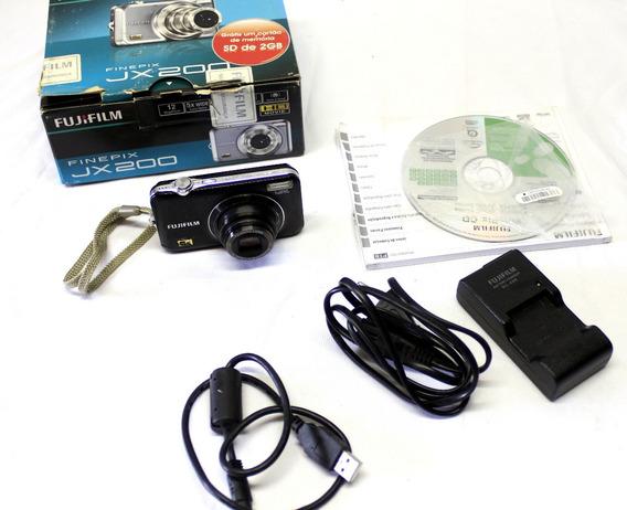Câmera Fotográfica Finepix Jx200 Fujifilm 5x Óptico 20024
