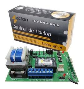 Central Placa Motor De Portão Acton Encoder Nova Lei 15 Seg