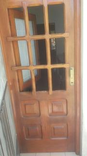 Puerta Interior Madera Vidrio Repartido Puertas Es Apta Para