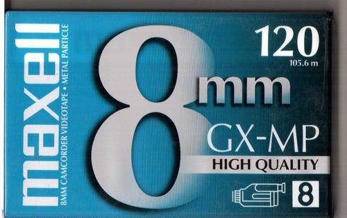 Fita 8mm P/film. - Kit 2 Maxell Gx-mp120 E 2 Tdk Mp120 + ...
