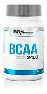 Bcaa 2400 100 Caps - Brn Foods / Com Nf