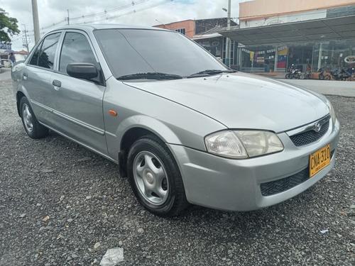 Mazda Allegro Sedan Mecanico Gris Mod 2000