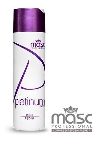 Imagem 1 de 2 de Shampoo Matizador Violeta Platinum 250g