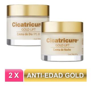 Pack Cicatricure Gold Lift Crema Día Y Noche 50 G. C/u