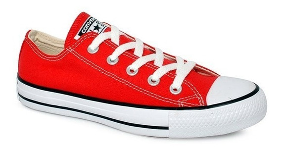 Tênis Converse All-star Ct As Core Ox Vermelho Ct00010004