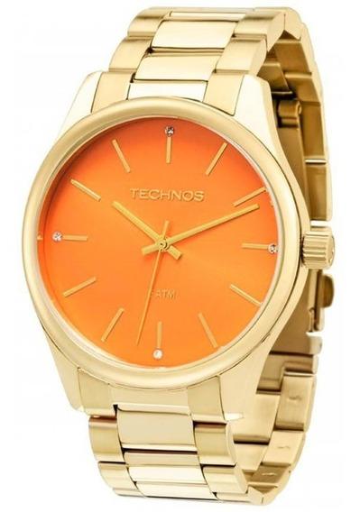Relógio Feminino Technos Dourado 2035lrb4l