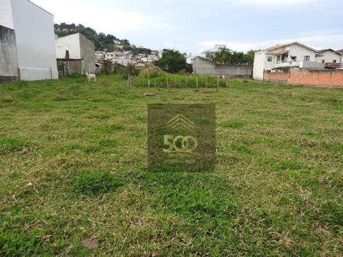 Terreno Amplo Escriturado, 366 M² Por R$ 265.000 - Fazenda Santo Antônio - São José/sc - Te0098