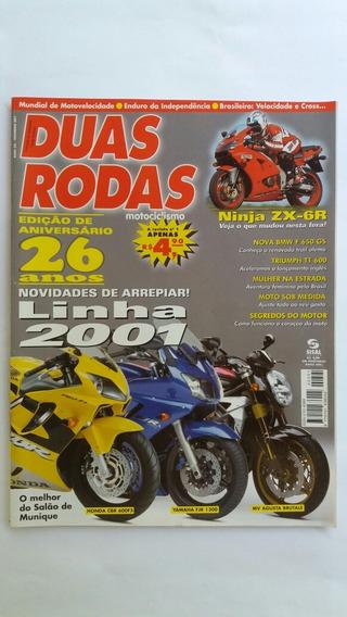 Revista Duas Rodas N°301 Out/2000 Linha 2001